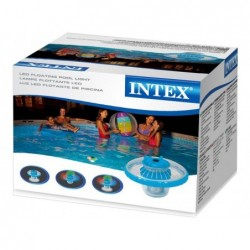 Luz LED Flotante Intex 28695 para Piscinas | PiscinasDesmontable