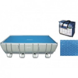 Cubierta solar para piscina 716 x 346 cm INTEX 29027    PiscinasDesmontable