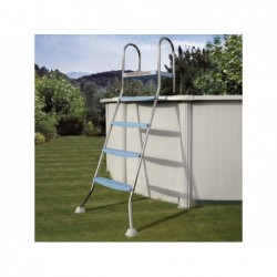 Escalera Gre AR11680 para piscinas elevadas 142 cm | PiscinasDesmontable