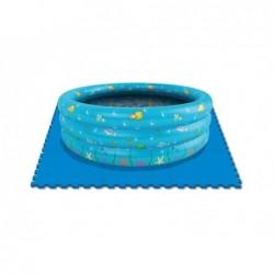 Suelo De Protección Para Piscinas 9 Piezas De 50x50 Cm
