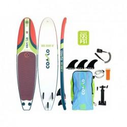 Tabla de Surf Hinchable Coasto Air Surf 8 Poolstar PB-CAIRS8B de 244x57 cm. | PiscinasDesmontable