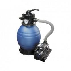 Depuradora Filtro Arena Monobloc Modelo 500 Y Bomba 0,8 Hp.