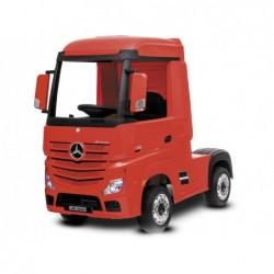 Camión de Batería 12 V Mercedes Blanco Radio Control | PiscinasDesmontable