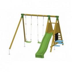 Parque Infantil Con Tobogán Mauna Loa Academy Masgames Ma700022