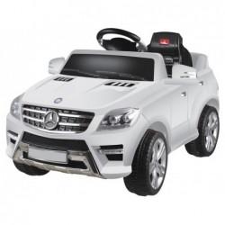 Coche Todoterreno de batería Mercedes Benz en blanco o rojo | PiscinasDesmontable