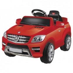 Coche Todoterreno de batería Mercedes Benz en blanco o rojo