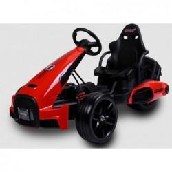 Coche de Batería 12V Kart Rojo