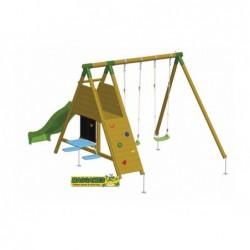 Parque Infantil Con Rampa Mauna Loa Academy Masgames Ma700023