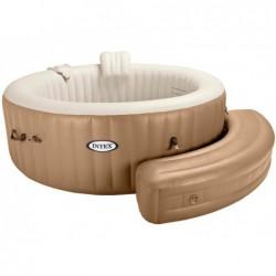 Bancada Curva Hinchable Para Purespa Intex 28057 (Color Beige)