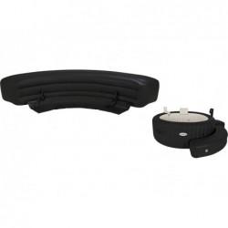 Bancada Curva Hinchable Para Purespa Intex 28057 (Color Café) | PiscinasDesmontable