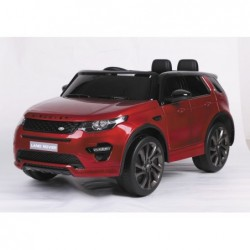 Coche de Batería 12V Land Rover Radio Control Rojo | PiscinasDesmontable