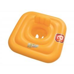 Asiento Con Flotador Hinchable Swim Safe Cuadrado De 69x69 Cm