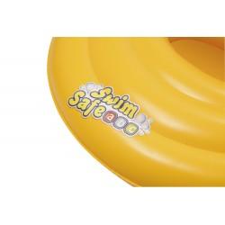 Asiento Con Flotador Hinchable Swim Safe Redondo De 69 Cm | PiscinasDesmontable