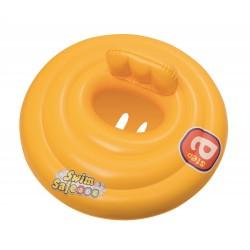 Asiento Con Flotador Hinchable Swim Safe Redondo De 69 Cm