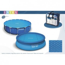 Cobertor Solar Intex (287 Cm) Ref.29021 Para Piscina | PiscinasDesmontable