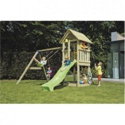 Parque Infantil Con Columpio Doble Kiosk Masgames Ma811101