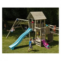 Parque Infantil Con Columpio Doble Penthouse Xl Masgames Ma821201