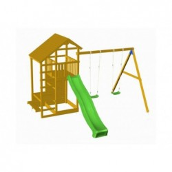 Parque Infantil Con Columpio Doble Teide Xl Masgames Ma700101