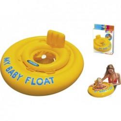 Flotador Infantil con Asiento Intex 56585 de 70 cm. para Bebé | PiscinasDesmontable