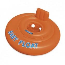 Asiento Con Flotador Hinchable Redondo Para Bebé De 76 Cm