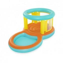 Saltador con Piscina de Juegos de 239x142x102 cm. Jumptopía Bestway 52385