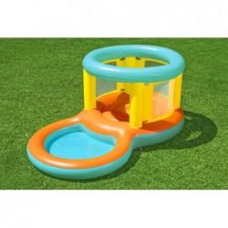 Saltador con Piscina de Juegos de 239x142x102 cm. Jumptopía Bestway 52385 | PiscinasDesmontable