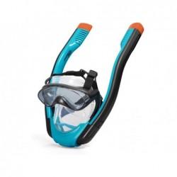 Máscara Snorkel Hydro Pro con 2 Tubos Talla L/XL Bestway 24058