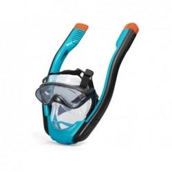 Máscara Snorkel Hydro Pro con 2 Tubos Talla S/M Bestway 24060