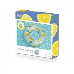 Flotador Hinchable Perfumado de 119 cm. Scentsational Lemon Bestway 36229 | PiscinasDesmontable