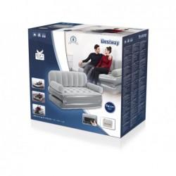Sofá Cama Hinchable con Hinchador Eléctrico Incorporado de 188x152x64 cm. Couch Bestway 75079 | PiscinasDesmontable