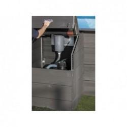 Local Técnico para Piscinas Composite con Altura de 96 cm Gre TRCP96 | PiscinasDesmontable