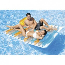 Colchoneta Para Relax Doble Lounge. 198 X 160 Cm Intex 56897  | PiscinasDesmontable