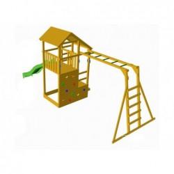 Parque Infantil Con Escalera De Mono Teide Xl Masgames Ma700102
