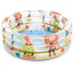 Piscina Hinchable Dinosaurios De 61x22 Cm. Intex 57106