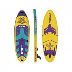 Tabla Paddle de Surf Stand Up De Kohala Stream River 295x86x15 cm. Ociotrends KH29510   PiscinasDesmontable
