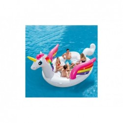Isla Hinchable Intex 57266 De 503x335x173 Cm. Unicornio | PiscinasDesmontable