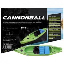 Kayak Cannonbal de la marca Kohala 400x84x36cm | PiscinasDesmontable