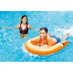 Bodyboard Hinchable Surf Rider 102x89 cm de Intex 58154 | PiscinasDesmontable