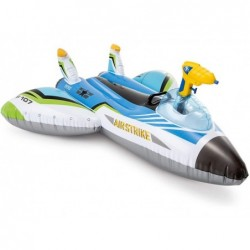Nave Hinchable de 117x117 cm Ride On con Pistola de Agua Intex 57536 | PiscinasDesmontable