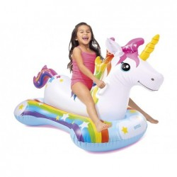 Unicornio Hinchable de 163x86 cm Ride On Intex 57552 | PiscinasDesmontable