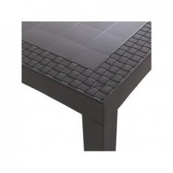 Muebles de Jardín Mesa Modelo Dream Wengué SP Berner 32118 | PiscinasDesmontable