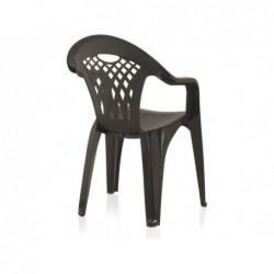 Muebles de Jardín Silla Modelo Cancún Wengué SP Berner 43026 | PiscinasDesmontable