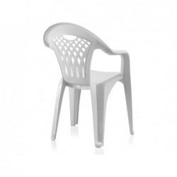 Muebles de Jardín Silla Cancún Blanca SP Berner 43027 | PiscinasDesmontable