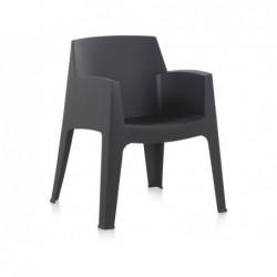 Muebles de Jardín Silla Modelo Master Antracita Berner 55244