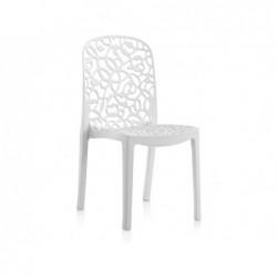 Muebles de Jardín Silla Modelo Flora Blanca SP Berner 55109