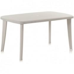 Muebles de Jardín Mesa Modelo Tonelle Blanco SP Berner 55125