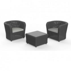 Muebles de Jardín Set Modelo Nova Tete a Tete SP Berner 55386