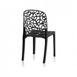 Muebles de Jardín Silla Modelo Flora Antracita SP Berner 55396 | PiscinasDesmontable