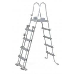 Escalera Seguridad Para Piscina Bestway 58332 132 Cm