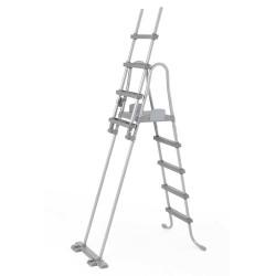 Escalera Seguridad Para Piscina Bestway 58332 132 Cm | PiscinasDesmontable